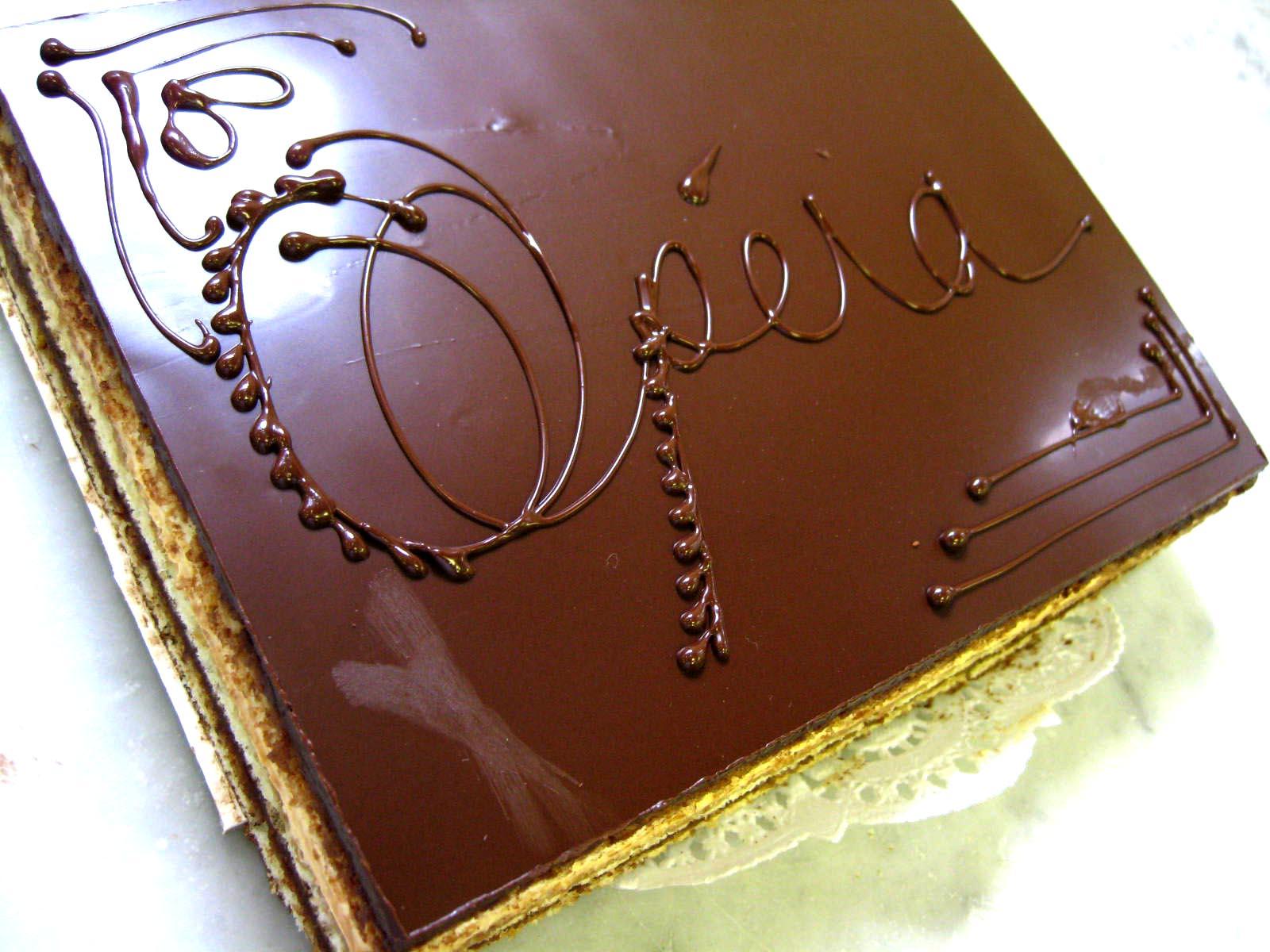 Opera Cake Ricke Chocolate Opera Cake