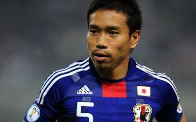 Nagatomo bom jogador japonês