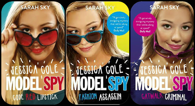 Jessica Cole, Model Spy, Sarah Sky, Fashion Assassin, Catwalk Criminal, Code Red Lipstick