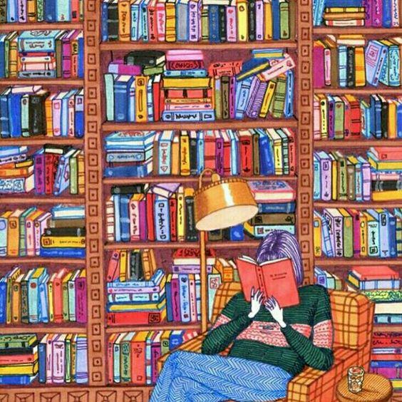 """""""En algún lugar de un libro hay una frase esperándonos para darle un sentido a la existencia""""."""