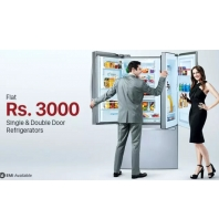 Buy Single & Double Door Refrigerators at Flat Rs.3000 Cashback : BuyToEarn