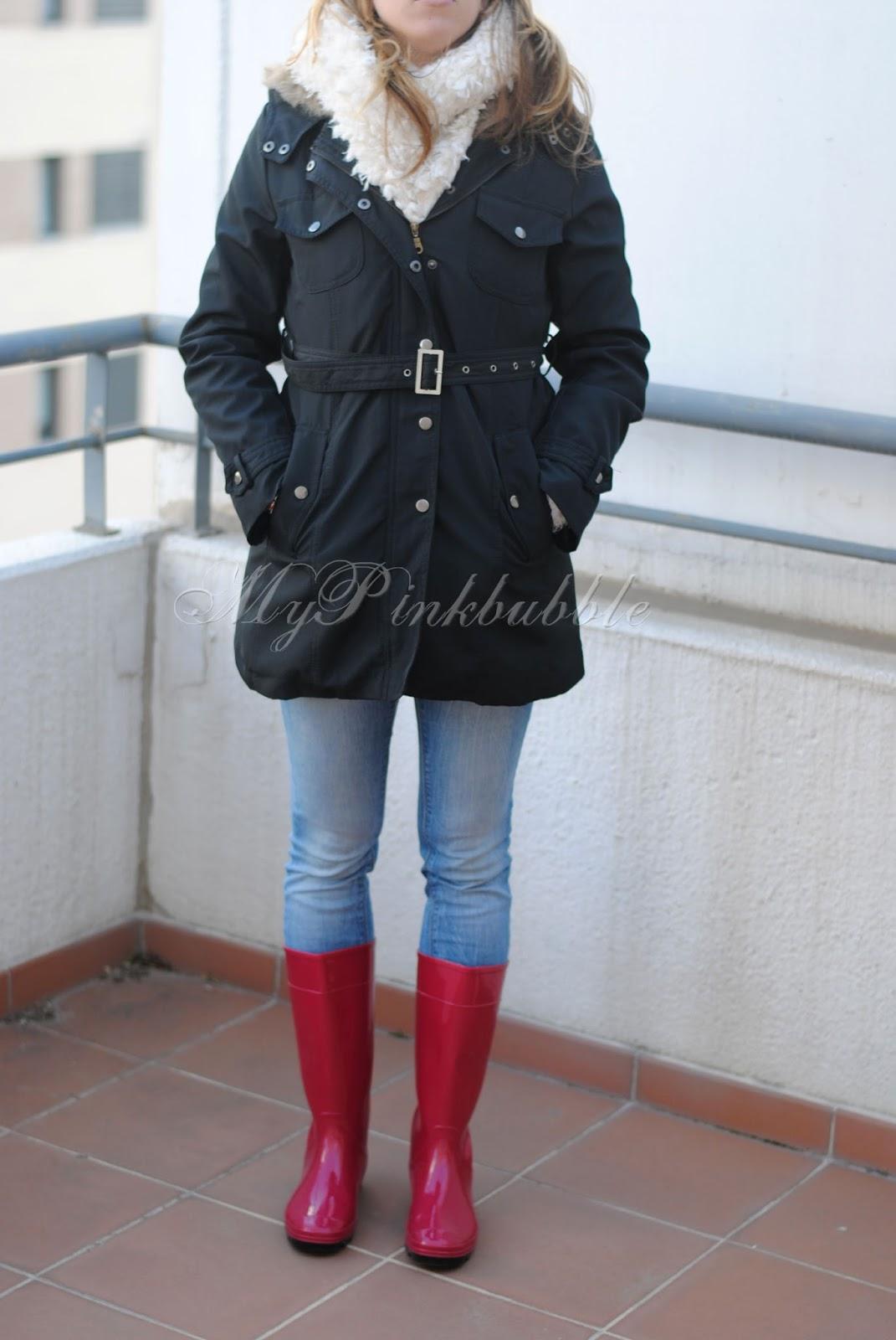 outfit abrigo cinturon