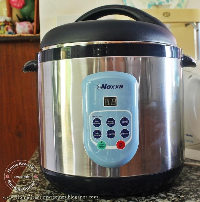 Noxxa pressure cooker vs philips pressure cooker
