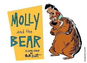 BOB SCOTT'S MOLLY AND THE BEAR!