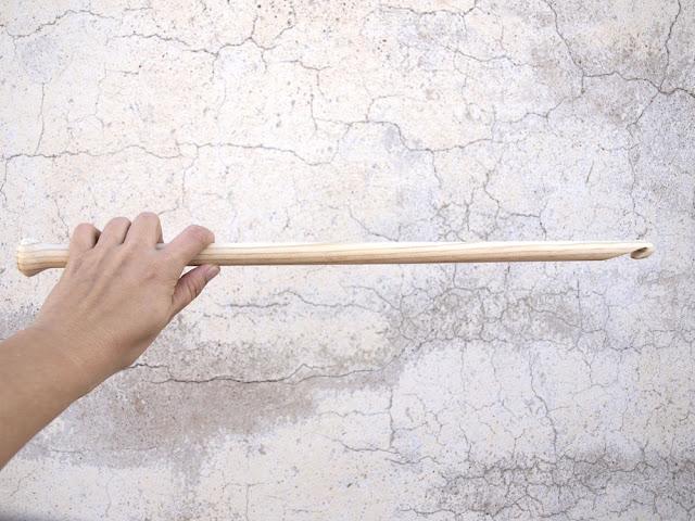 PUNTOBOBO Agujas de madera artesanales para tejer