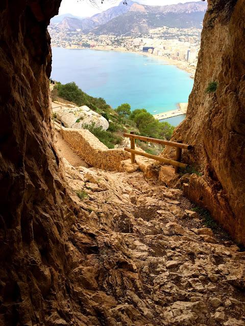 Penón de Ifach, tunel