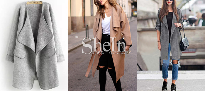 SheIn fall coat