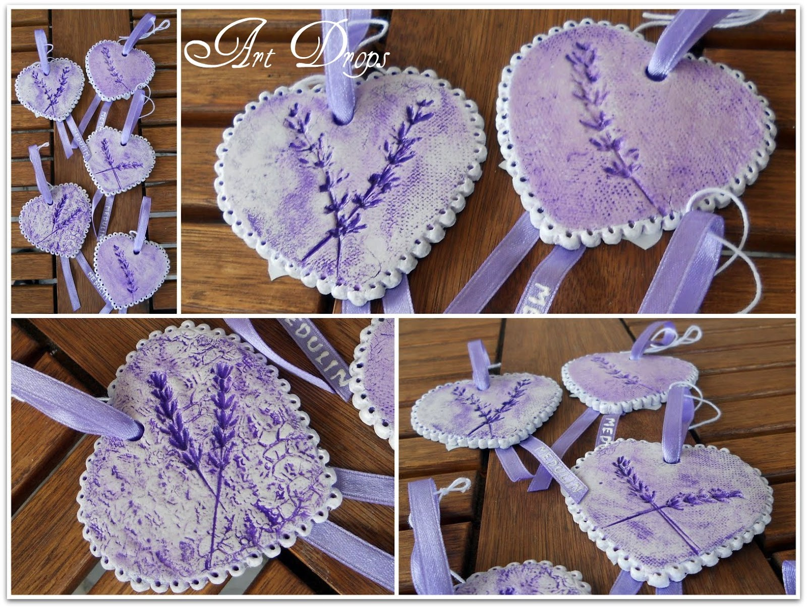 Art Drops: LAVENDER TUTORIAL