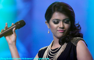 Bangladeshi power voice singer Kornia