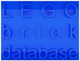 LEGO brick database