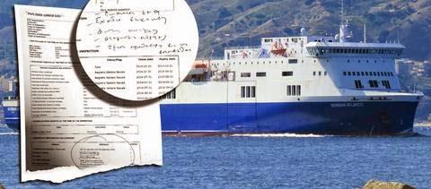 Κενά σε πυρασφάλεια και σωστικά μέσα αποκαλύπτονται με έγγραφο των Λιμενικών αρχών Πάτρας για το Norman Atlantic