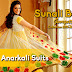 Designer Anarkali Suits | Sunali Bendre Suits | Georgette and Net Anarkali Collection