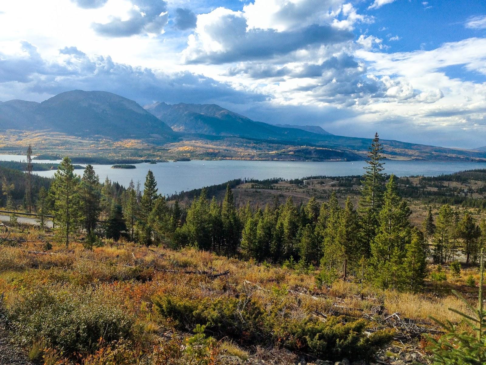 View over Lake Dillon