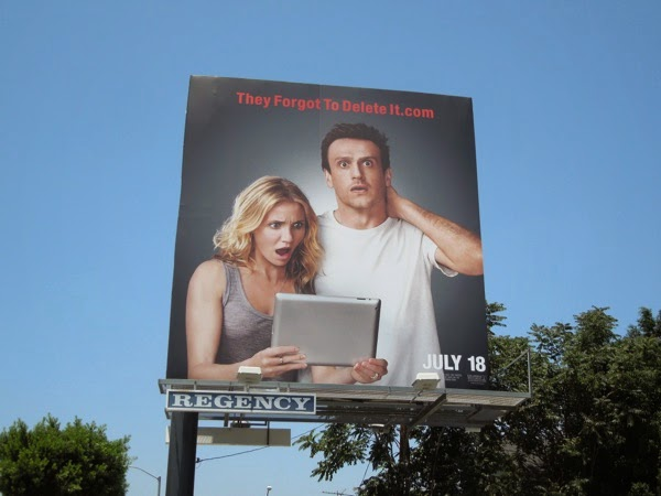 Sex Tape They forgot to delete it movie billboard