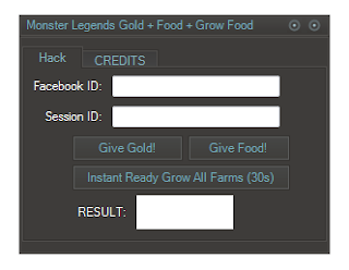 Cheat Monster Legends Hack Food, Gold, Gem