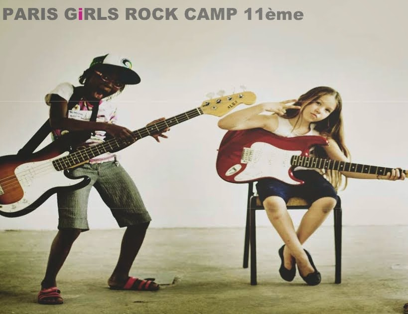 Paris Girls Rock Camp 2013!