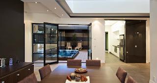 Interno villa moderna ideale