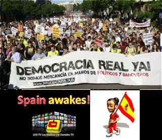 """Spain awakes! : Los """"indignados"""" españoles van por más"""
