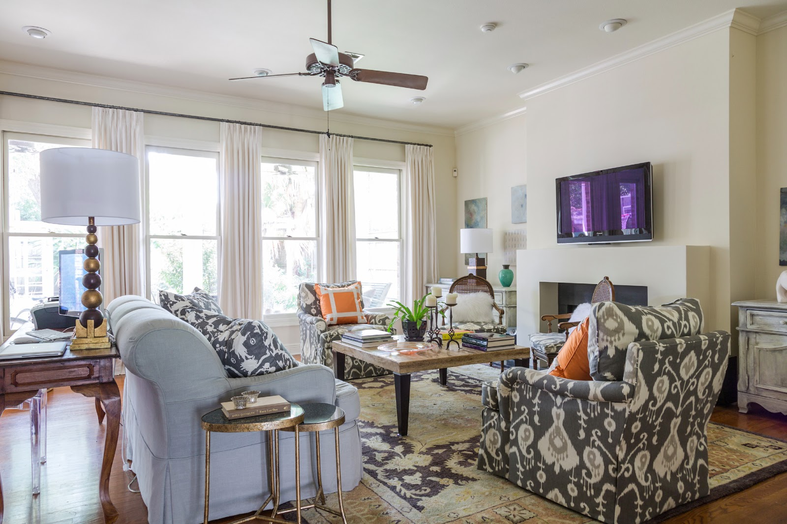 Updated living room by valorie hart