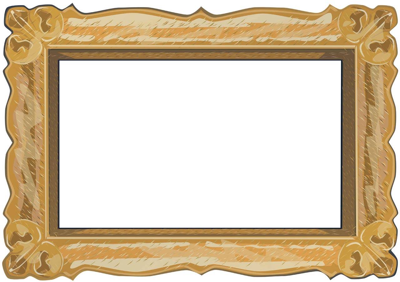 Picture Photo Frame PPT Backgrounds - PPT Backgrounds Templates