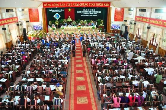 Đại hội đại biểu các dân tộc thiểu số tỉnh Bình Định lần thứ II năm 2014