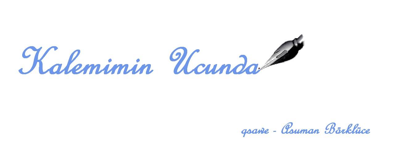Kalemimin Ucunda