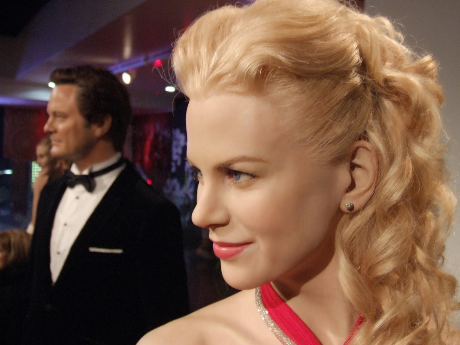 Nicole Kidman i Colin Firth u Madame Tussaud.