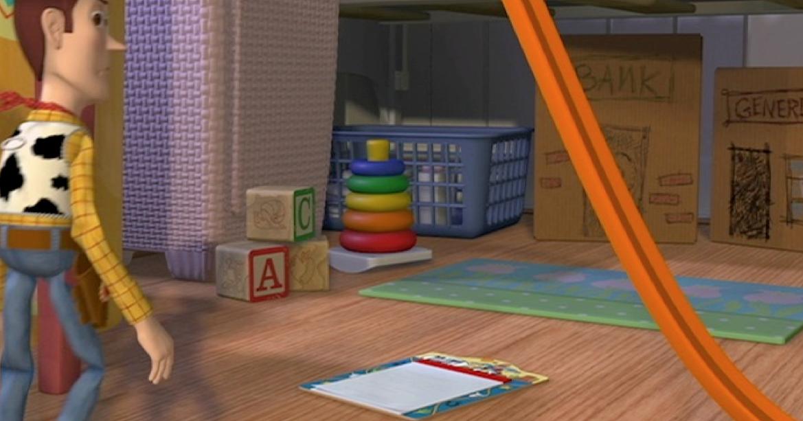 Dan the Pixar Fan: Toy Story: Rock-a-Stack