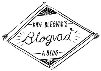 Kaye Blegvad&#39;s Blogvad