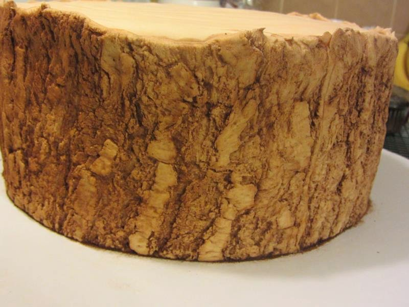 Realistic Cake Images : Decorate The Cake: Making realistic tree bark
