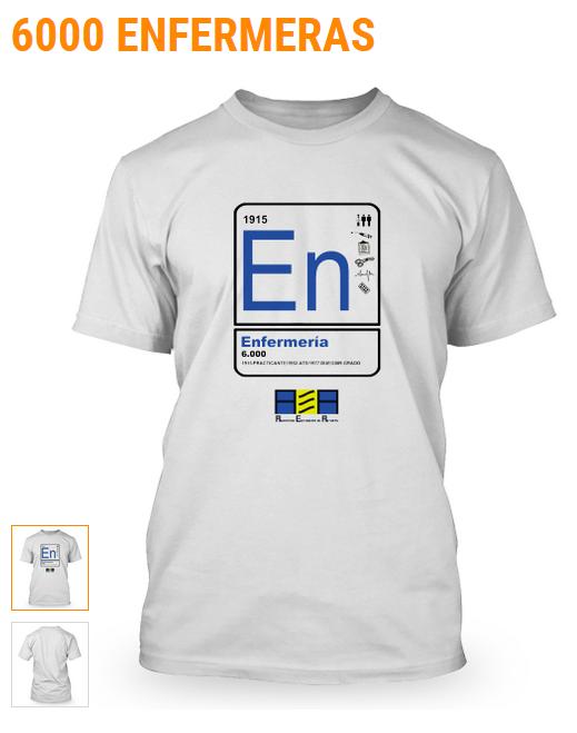 Camiseta 6000Enfermeras