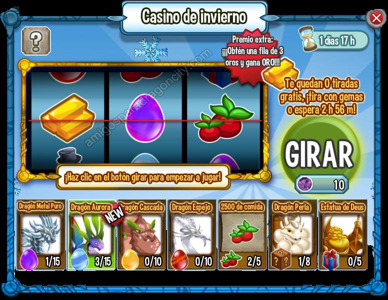 Casino De Invierno De Dragon City  Amigos Para Dragon City