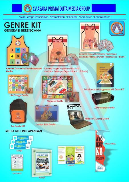 genre kit ,tender genre kit bkkBn 2016,pengadaan genre kit bkkbn 2016,(GENRE KIT),GENERASI BERENCANA (GENRE KIT) ,PRODUKSI GENRE KIT BKKbN 2016
