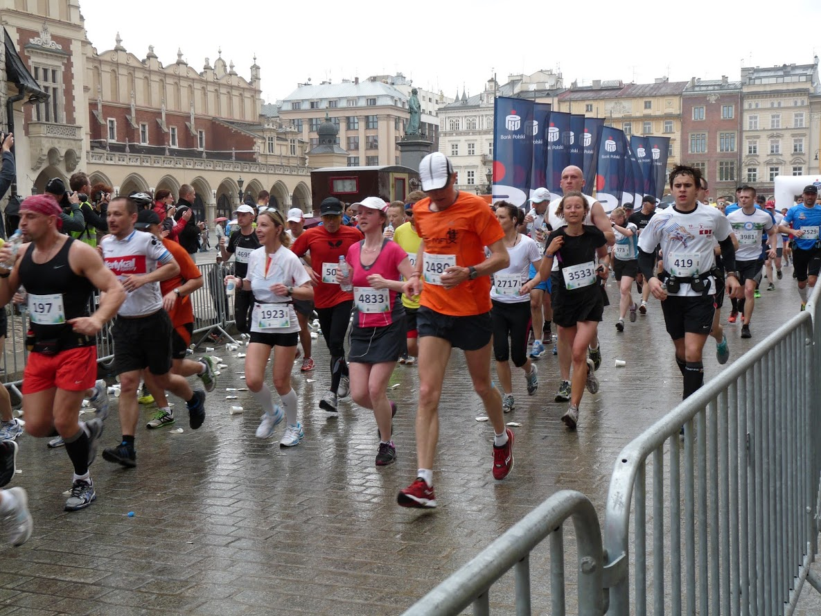Marathon Krakau 28 april 2013