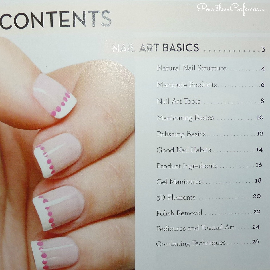 Book review idiots guides nail art pointless cafe how to care for your hands nails and cuticles how to polish your nails properlyeven your toes it takes you all the way through basic nail art styles prinsesfo Choice Image