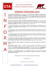 ENTREGA VESTUARIO 2019