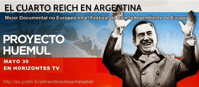 EL CUARTO REICH EN ARGENTINA | HORIZONTES TV
