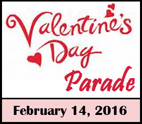 VALENTINE;S DAY PARADE
