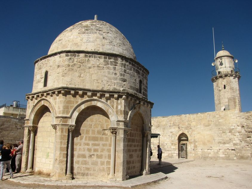 Israel, Jerusalén - Capilla de la Ascensión