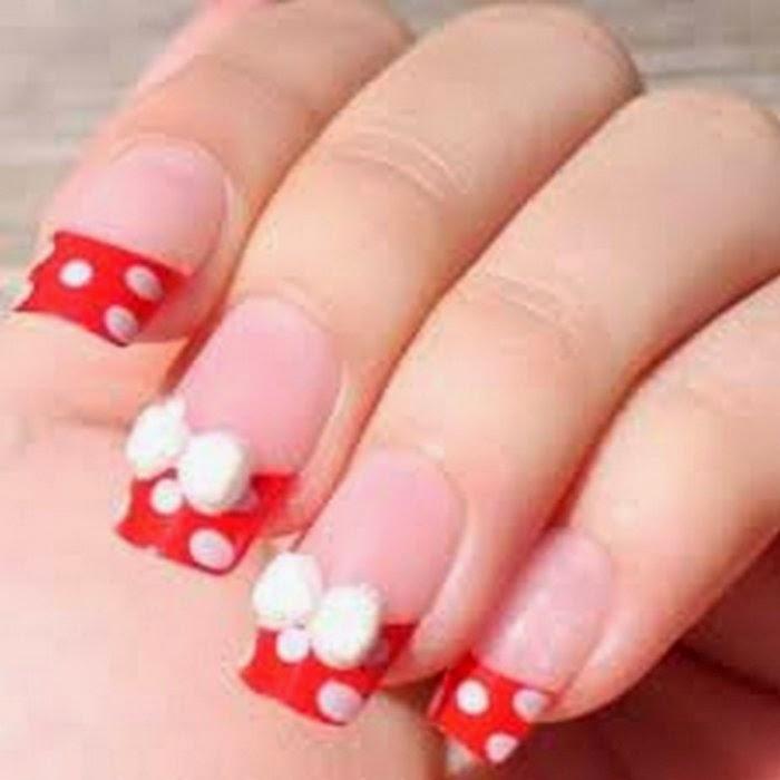 Uñas decoradas: Uñas decoradas en color Rojo, diseños y estilos de uñas