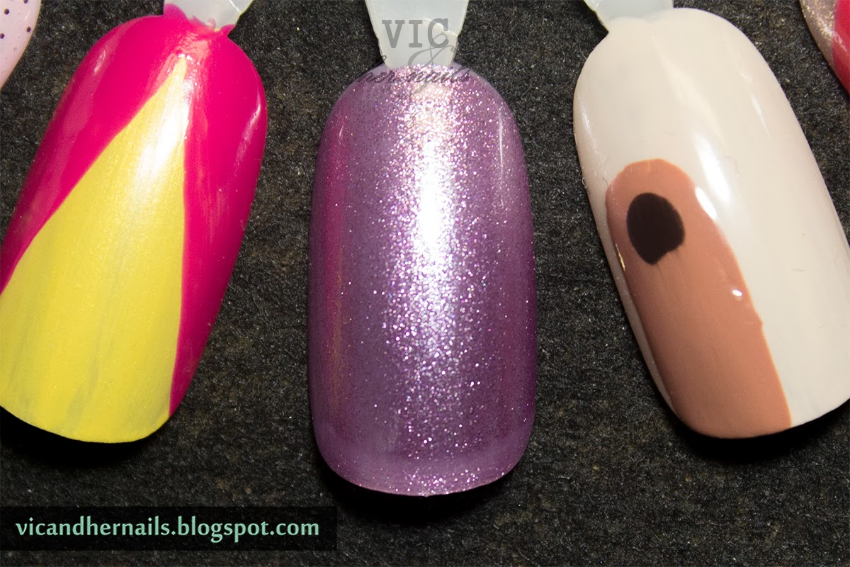 Vic and Her Nails: Super Easy Swirl Nail Art Tutorial