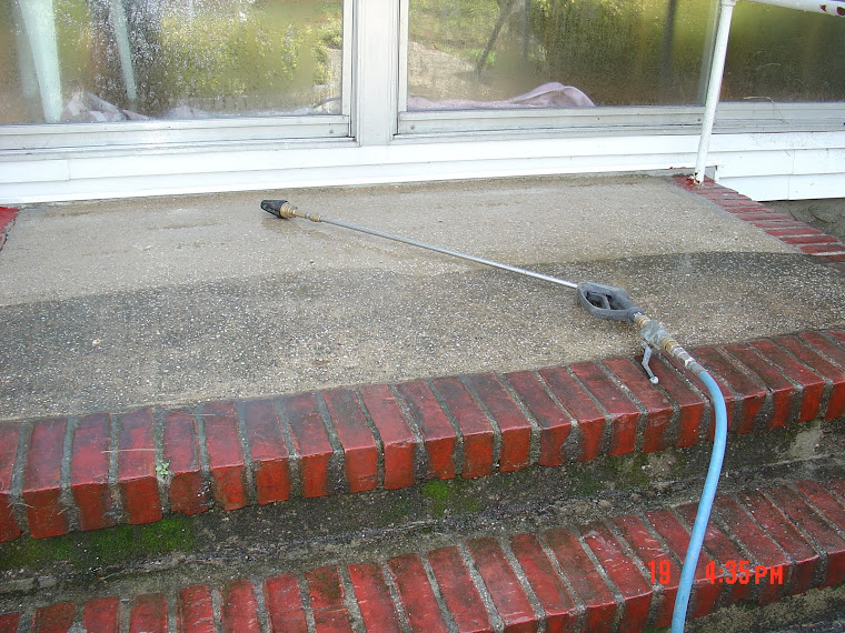 We restore grimy, dirty, moldy, concrete  and make it look clean again, Long Island NY