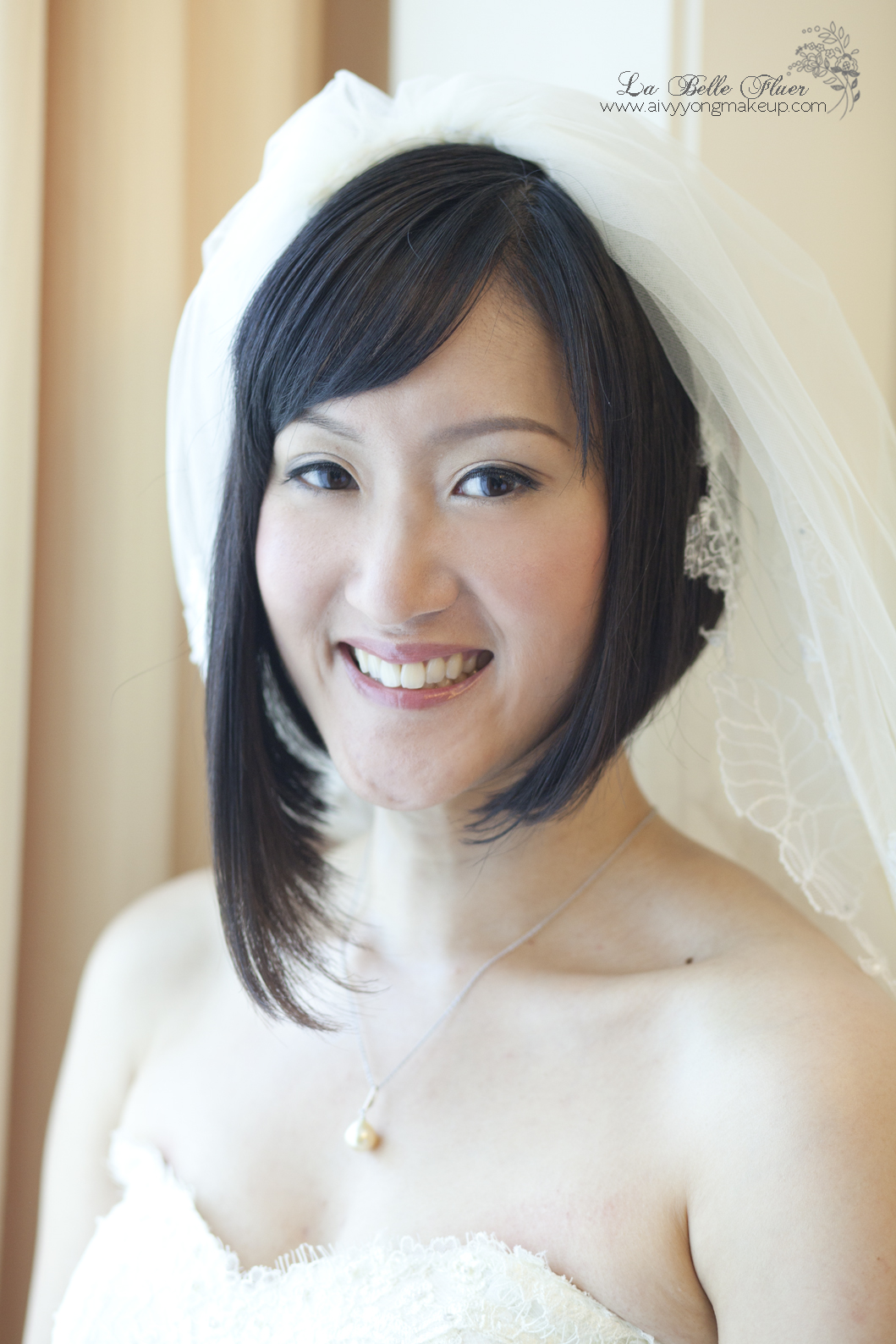 lovely bride denise aivy yong air brush bridal make up. Black Bedroom Furniture Sets. Home Design Ideas