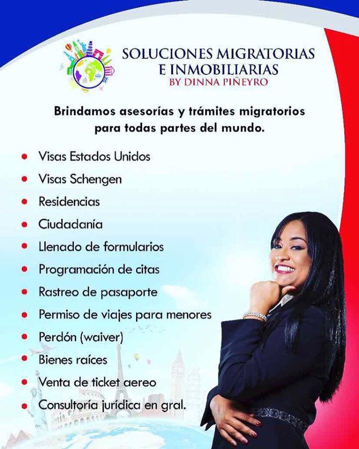 DINNA N. PIÑEYRO-SOLUCIONES MIGRATORIAS E INMOBILIARIAS