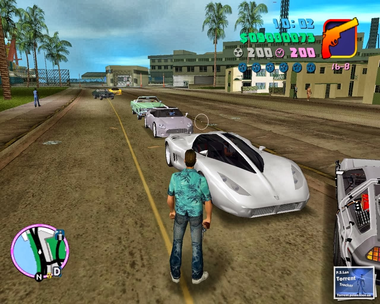 GTA Vice City Back To The Future Hill Valley PC Game Free Download  title=