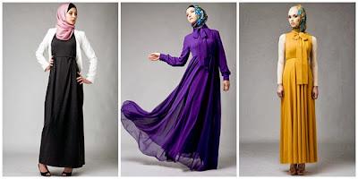 Description: Model dress wanita muslim terbaru 2013 , Rating: 4.5