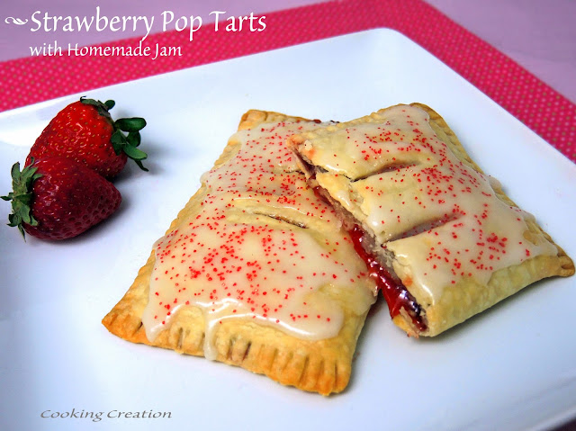 Strawberry 'Pop Tarts Recipe — Dishmaps