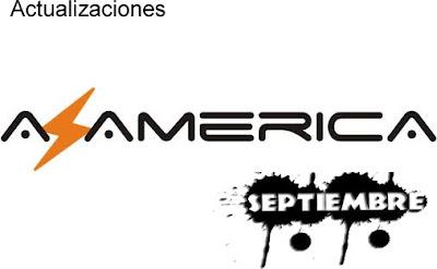 Actualizaciones Azamerica 1 Septiembre 2013