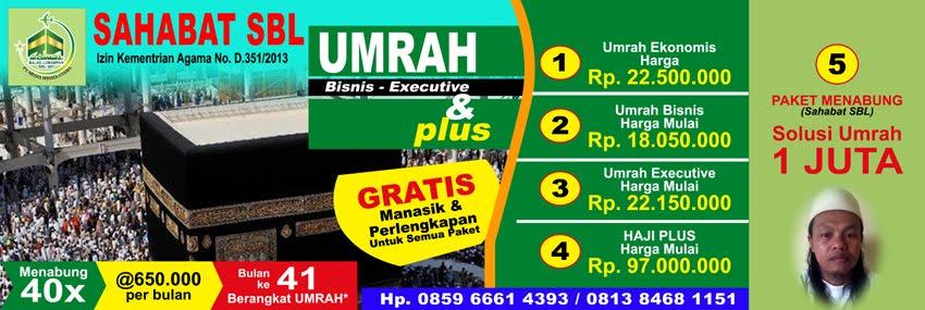 Menyelenggarakan Umrah & Haji Plus