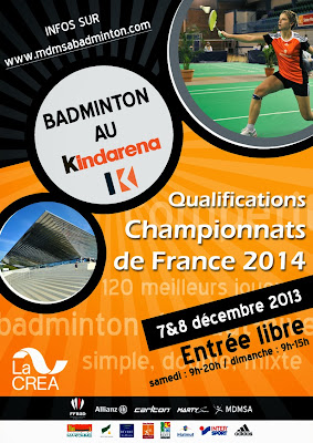 Ligue de haute normandie de badminton phase 1 du for 3f haute normandie